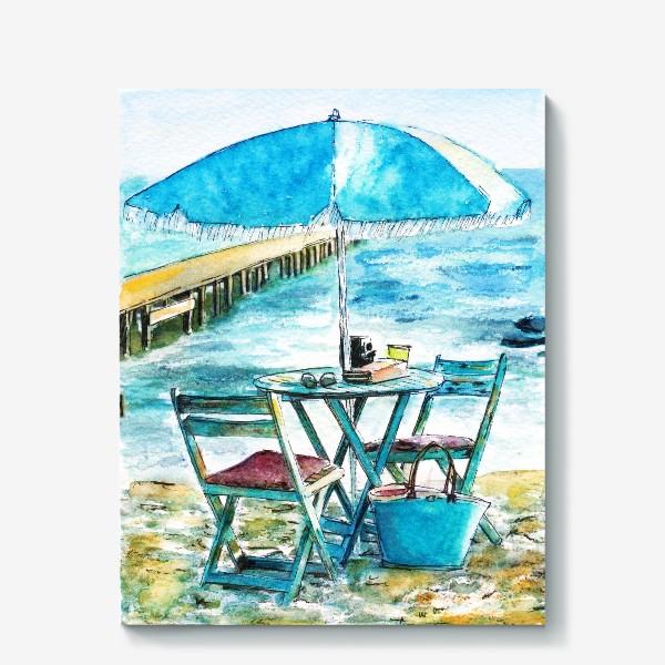 Холст «У моря»