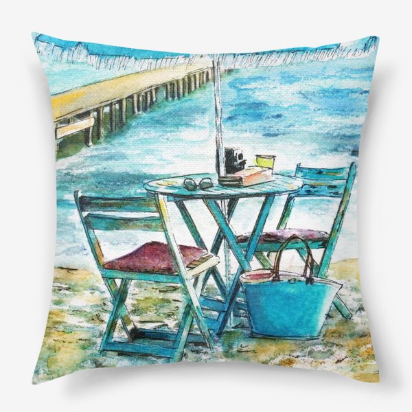 Подушка «У моря»