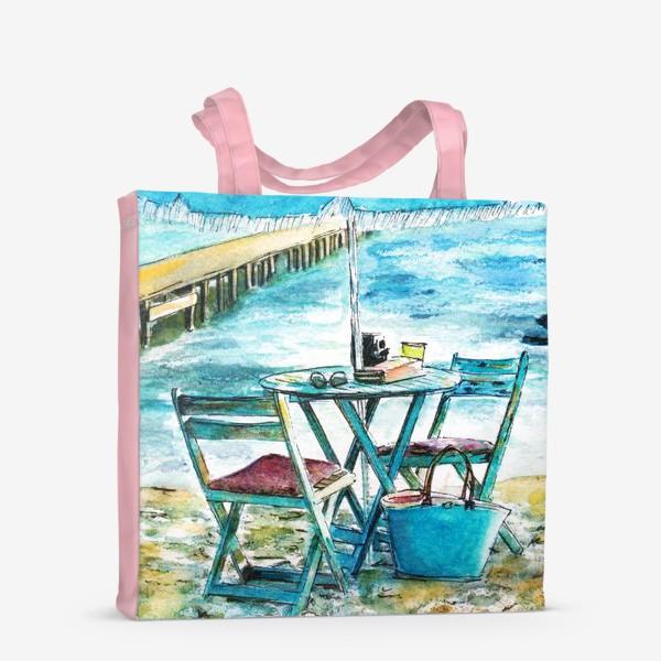 Сумка-шоппер «У моря»