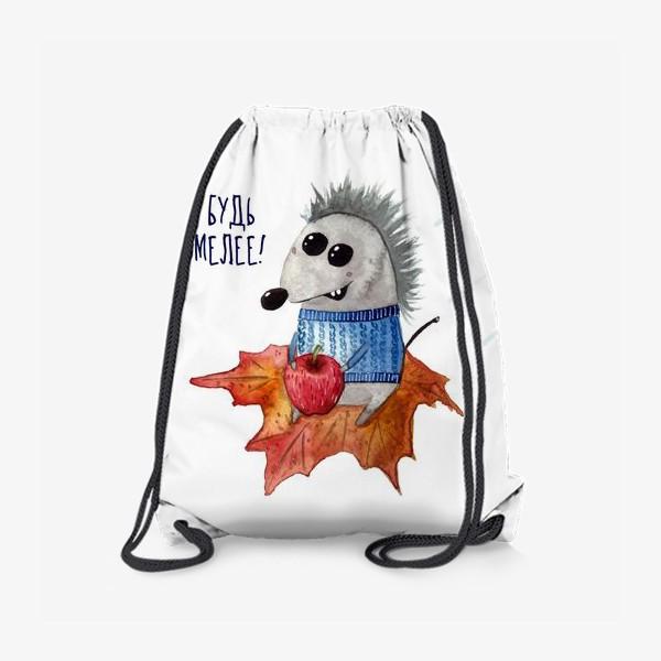 Рюкзак «Ежик, который летит на встречу приключениям»