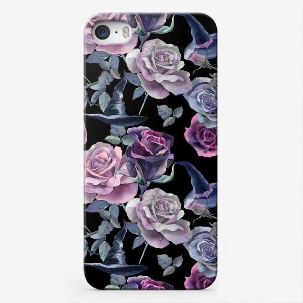 Чехол iPhone «Dark flowers»