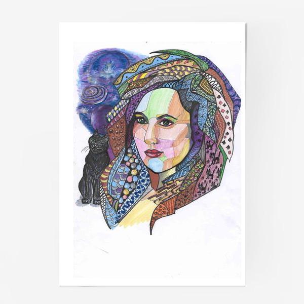 Постер «Колдунья»