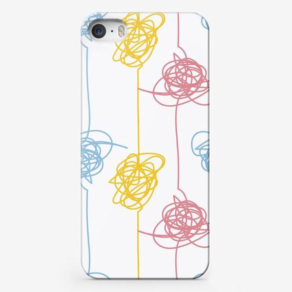Чехол iPhone «Разноцветные каракули»