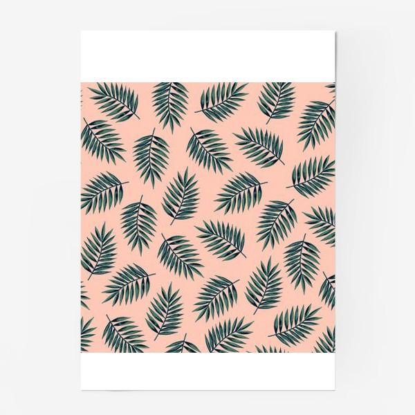 Постер «Листья пальмы/Palms»