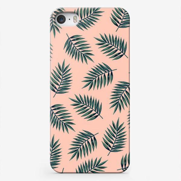 Чехол iPhone «Листья пальмы/Palms»