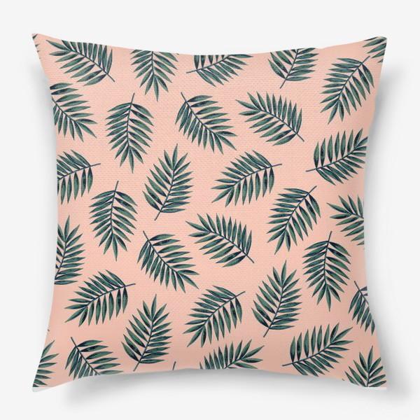 Подушка «Листья пальмы/Palms»