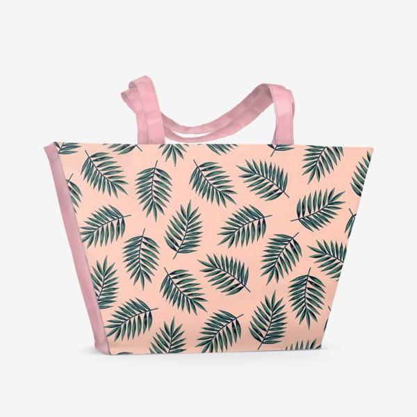 Пляжная сумка «Листья пальмы/Palms»