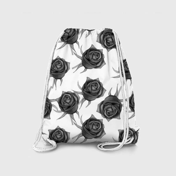 Рюкзак «Акварельные розы»