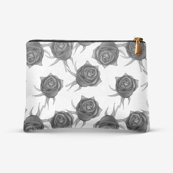 Косметичка «Акварельные розы»