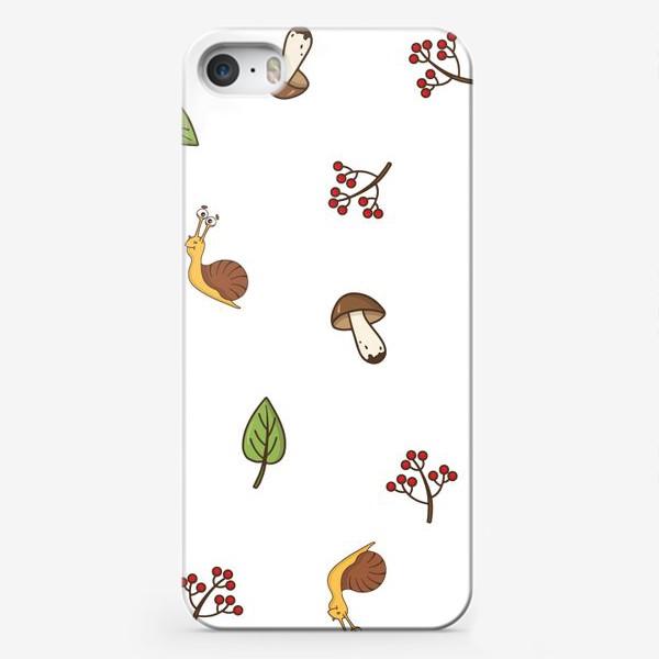 Чехол iPhone «Весёлая осень»