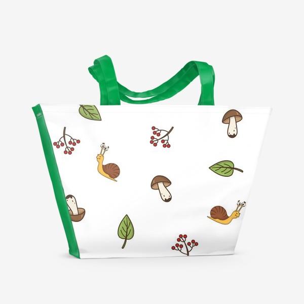 Пляжная сумка «Весёлая осень»