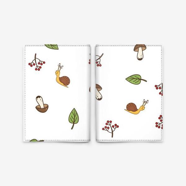 Обложка для паспорта «Весёлая осень»