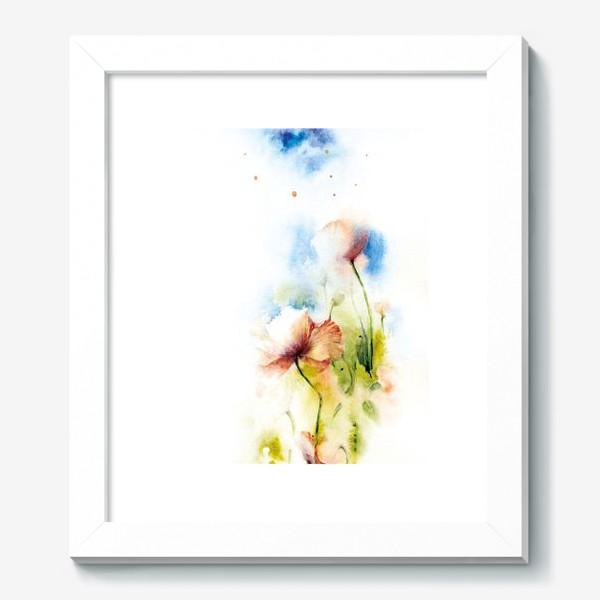 Картина «Маки в облаках»