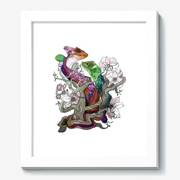Картина «Рептилии»