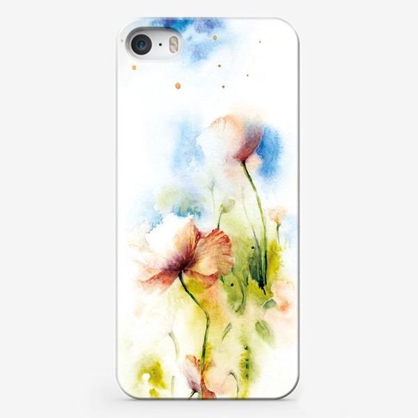 Чехол iPhone «Маки в облаках»