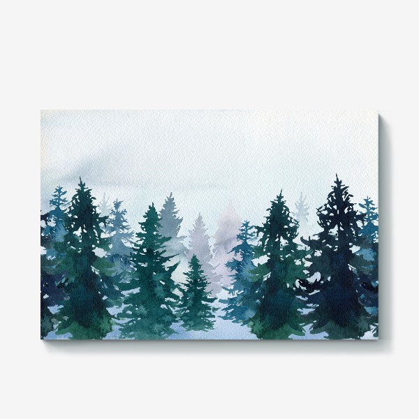 Холст «Winter forest»