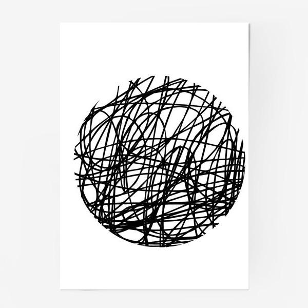 Постер «Хаос графика»