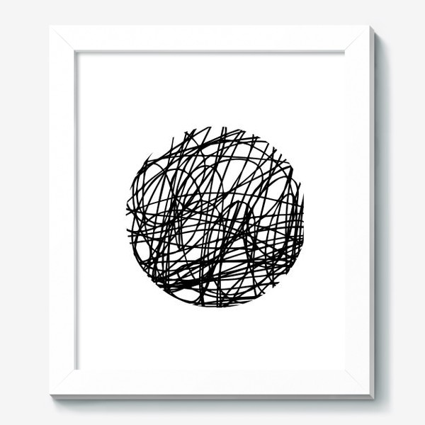 Картина «Хаос графика»