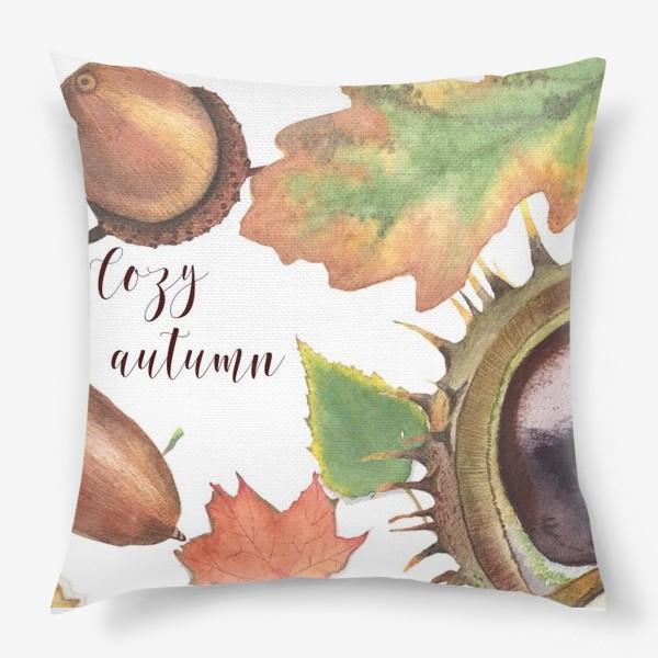 Подушка «Cozy autumn»