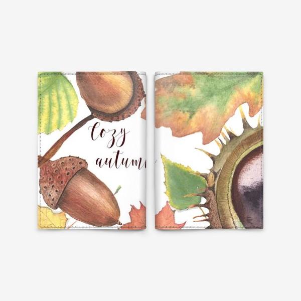 Обложка для паспорта «Cozy autumn»