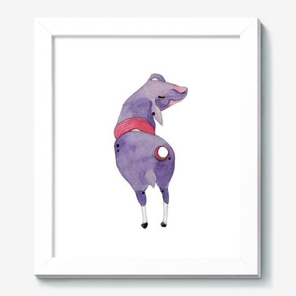 Картина «одинокая овца»