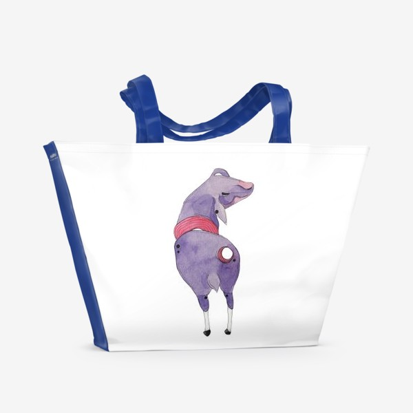 Пляжная сумка «одинокая овца»