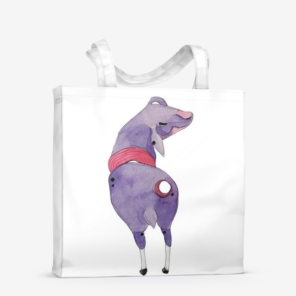 Сумка-шоппер «одинокая овца»