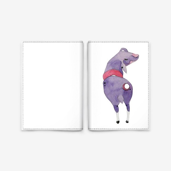 Обложка для паспорта «одинокая овца»