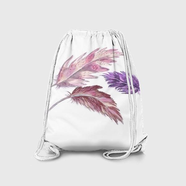 Рюкзак «Перышки»