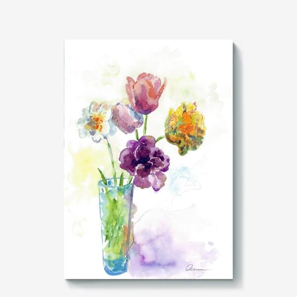 Холст «Майские цветы»