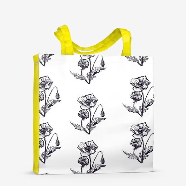Сумка-шоппер «мак. текстиль»
