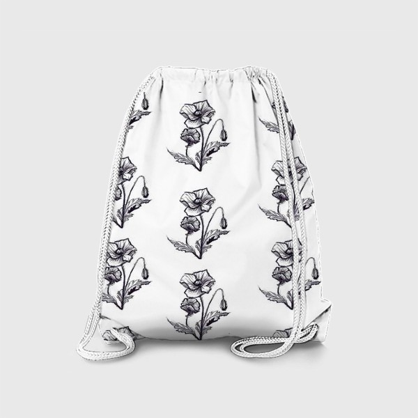 Рюкзак «мак. текстиль»