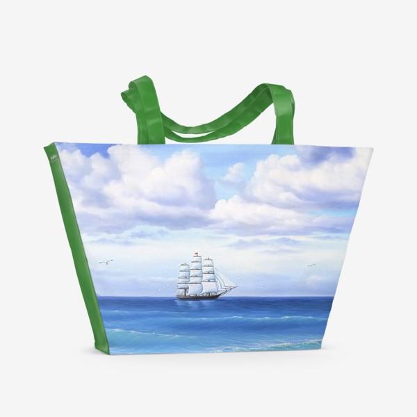 Пляжная сумка «Летний бриз»