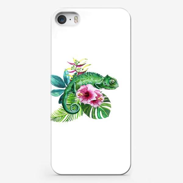 Чехол iPhone «Хамелеон»