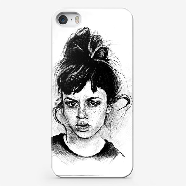 Чехол iPhone «Bad girl »