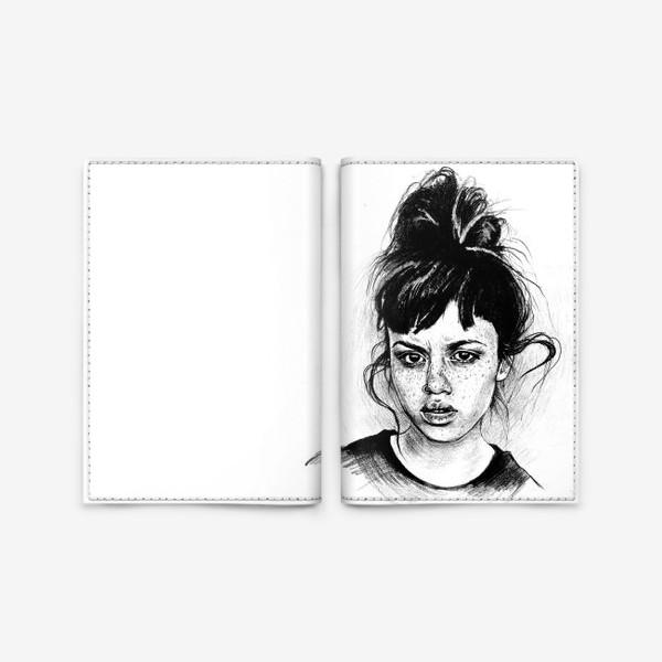 Обложка для паспорта «Bad girl »