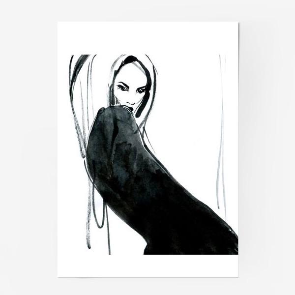 Постер «Fashion sketch 2»