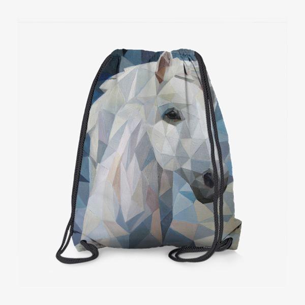 Рюкзак «Белая_лошадь»