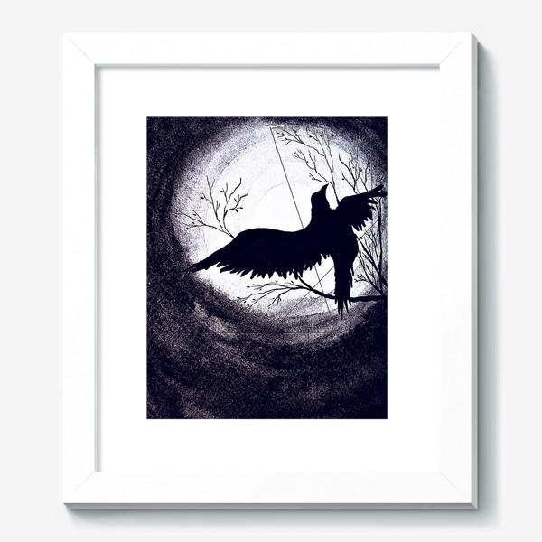 Картина «Ворон. Ночь»