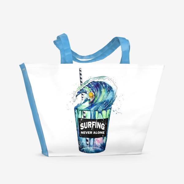 Пляжная сумка «surf»