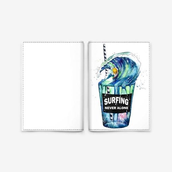 Обложка для паспорта «surf»