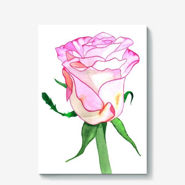 Холст «Роза »