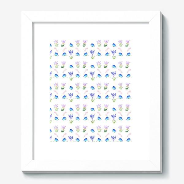 Картина «Весенние крокусы»