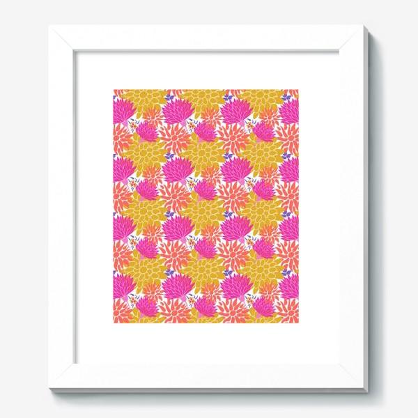 Картина «Цаеточный графический узор паттерн »