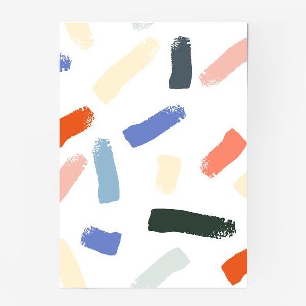 Постер «Brushstrokes»