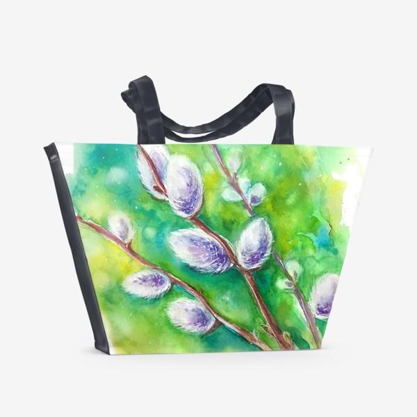 Пляжная сумка «Верба»