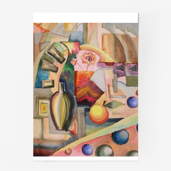 Постер «Фэнтези_натюрморт»
