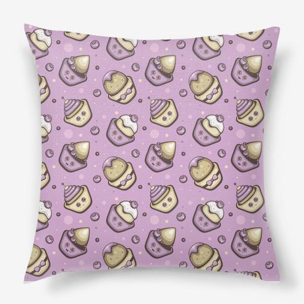 Подушка «Капкейки»