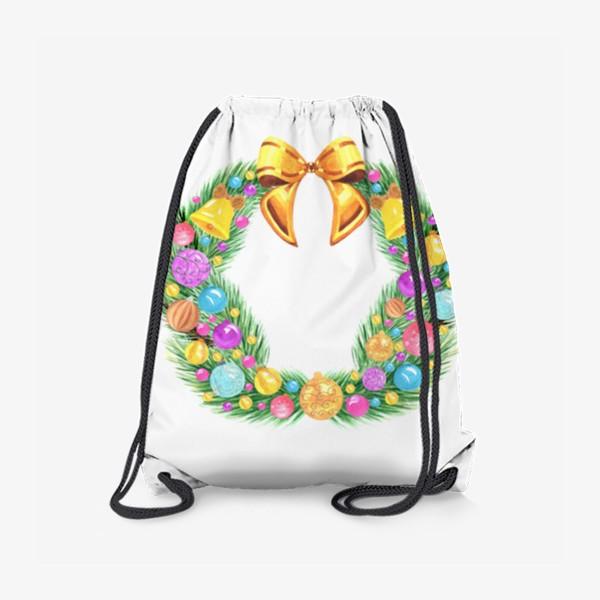 Рюкзак «Рождественский венок»