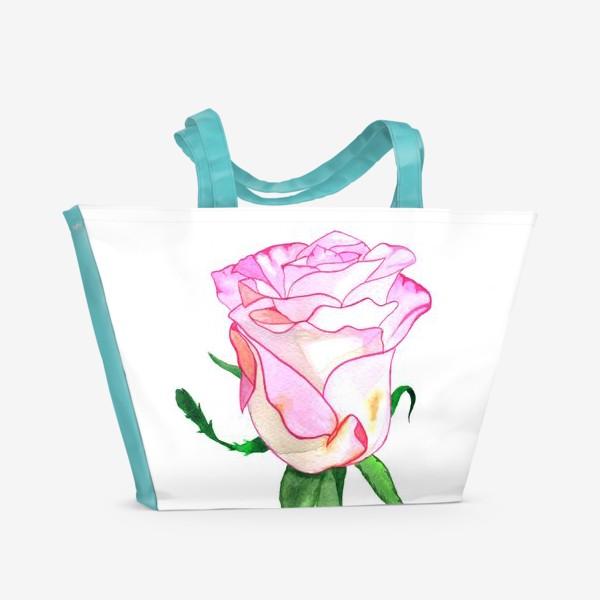 Пляжная сумка «Роза »